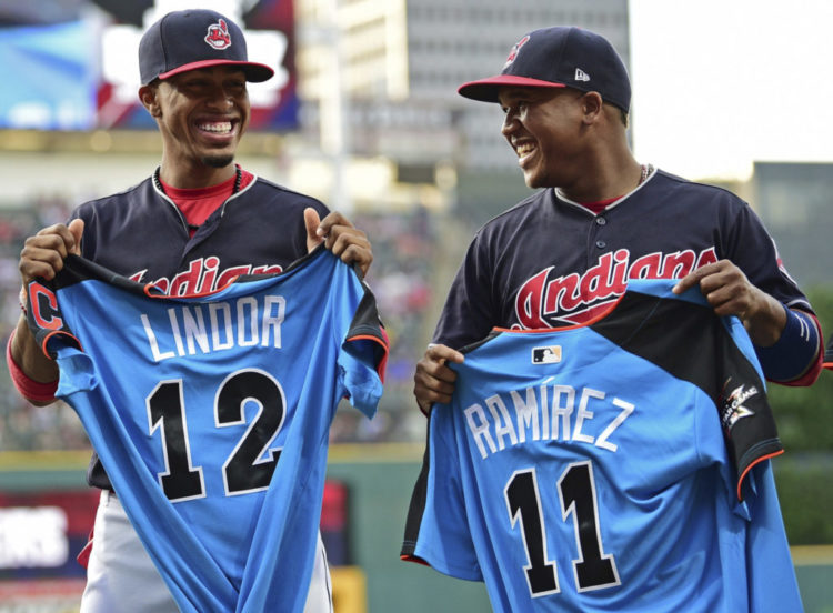 Francisco Lindor & Jose Ramirez