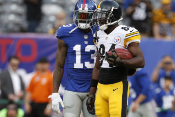 Odell Beckham and Antonio Brown