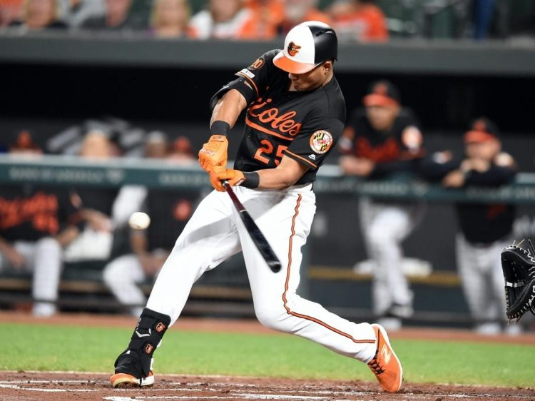 Orioles outfielder Anthony Santander (Getty Images)
