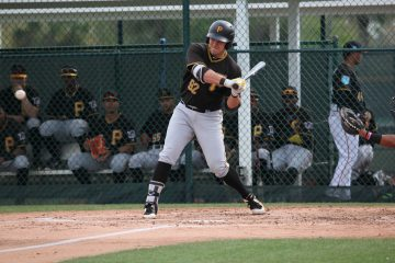 Pirates First Baseman of the Future Mason Martin